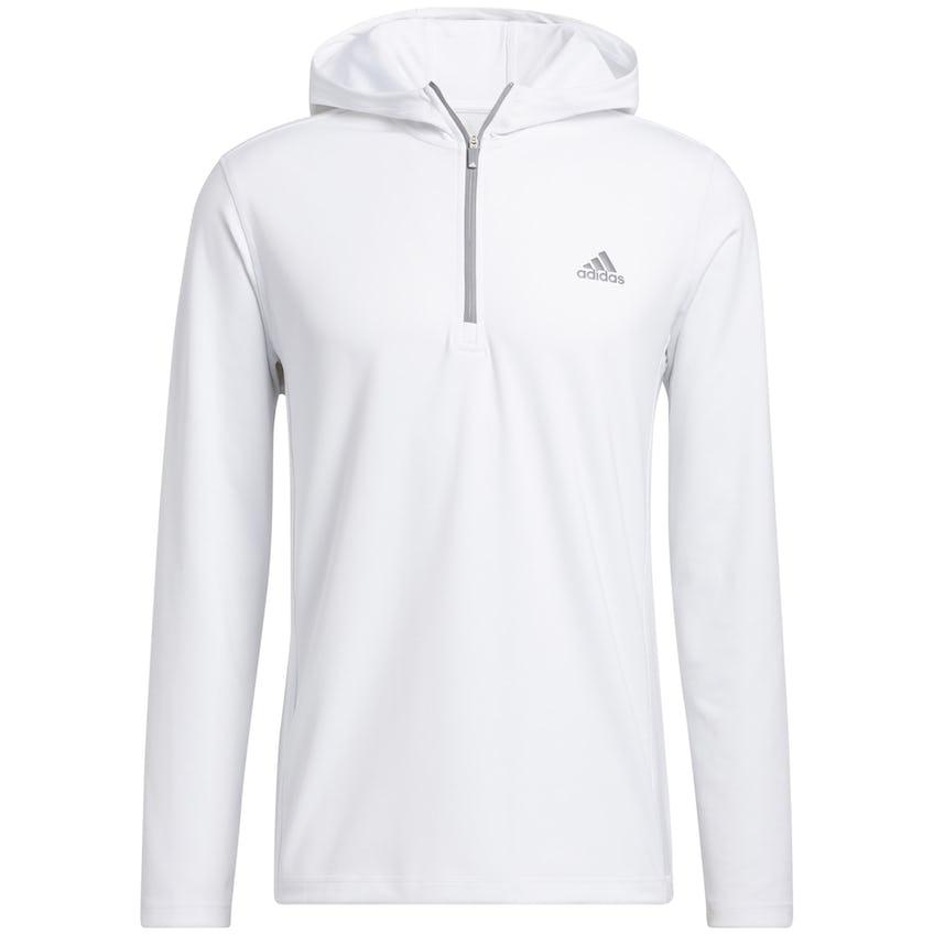 Primegreen Quarter Zip Hoodie Pullover White 0