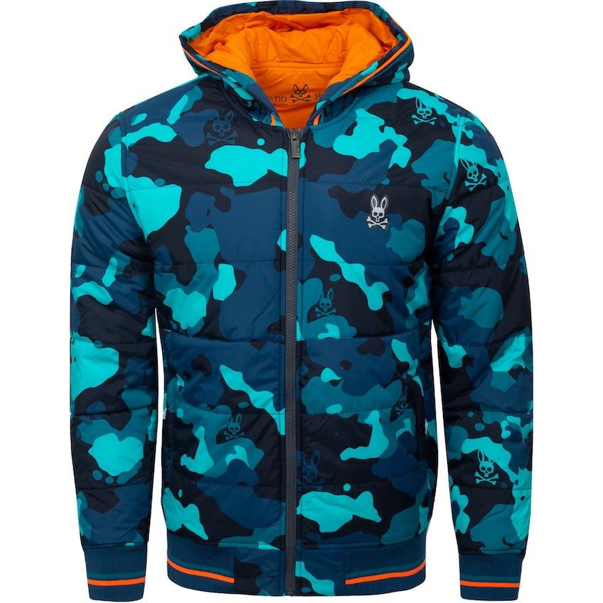 Urswick Camo Jacket Midnight Ocean 0
