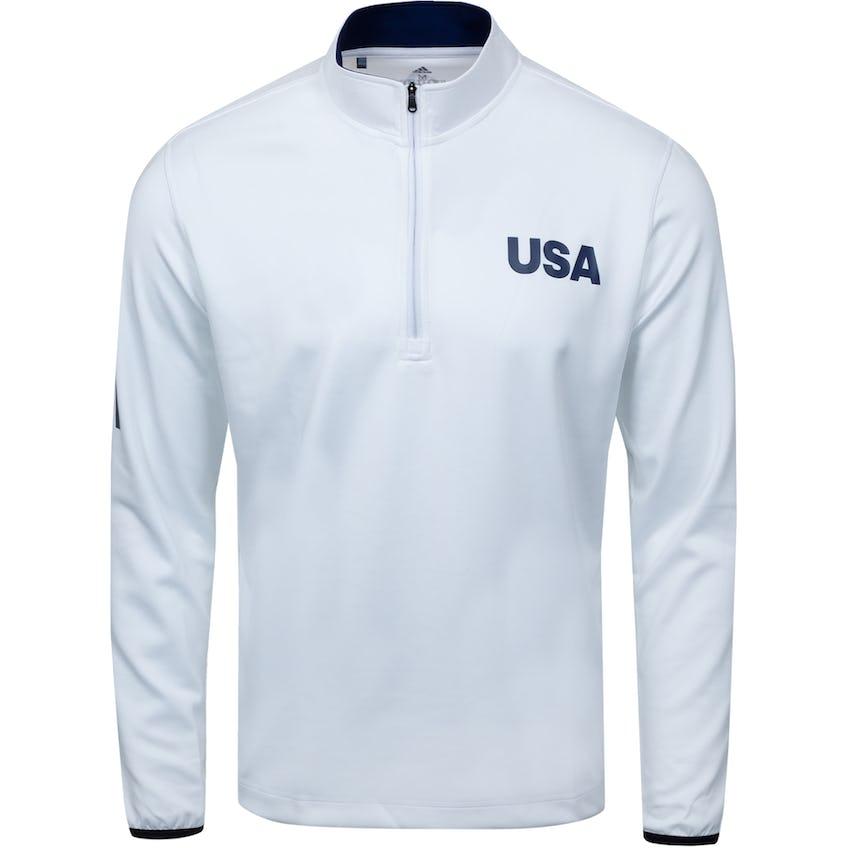 USA Olympic Golf Layering White/Dark Blue 0