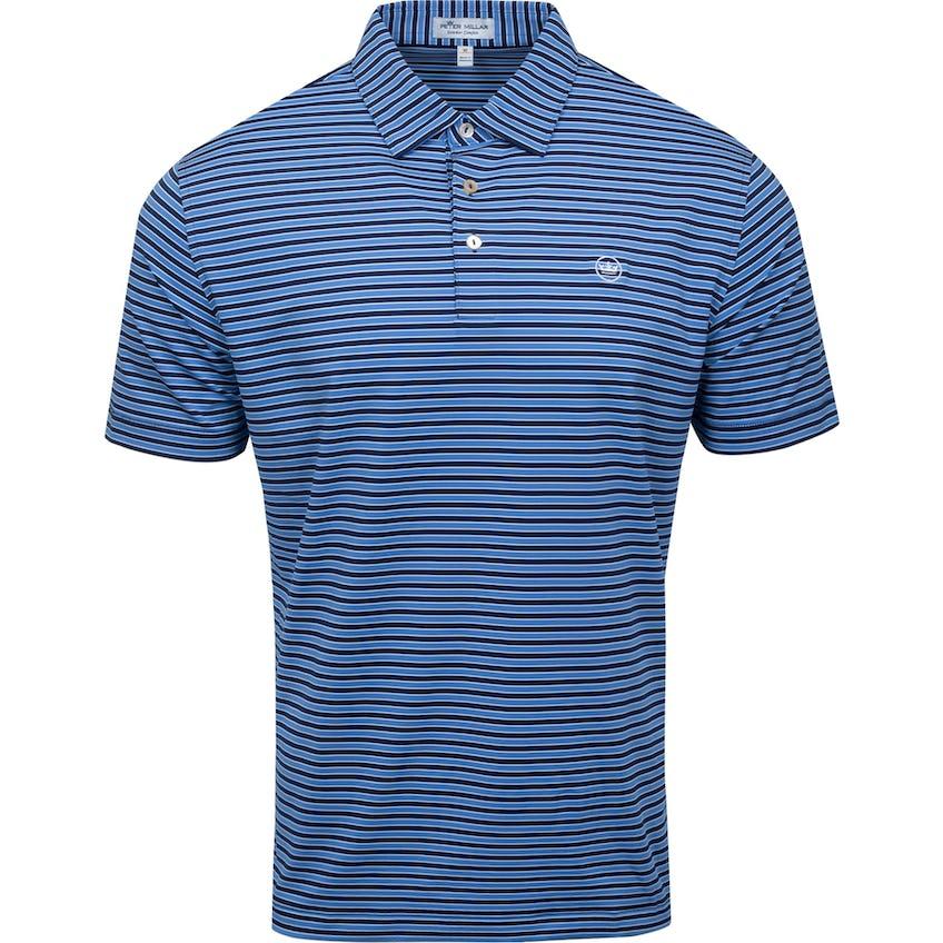 Mac Performance Jersey Polo Sean Self Collar Navy 0