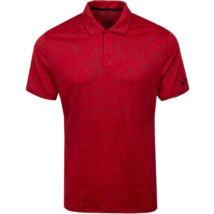 Dri-FIT ADV TW Printed Polo Team Red/Gym Red 0