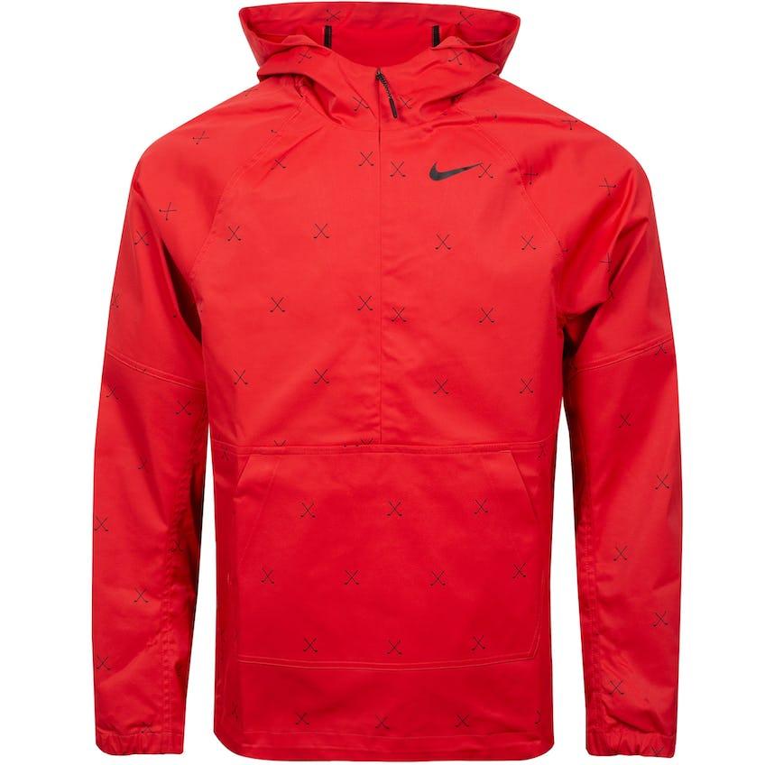 Repel Printed Anorak Jacket Track Red/Black 0