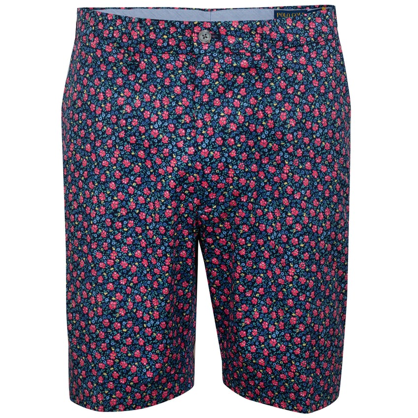 Classic Fit Printed Polo Links Short French Navy Sunrise Floral 0