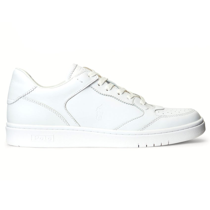 Court Lux Leather Sneaker White 0
