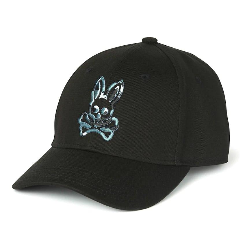 Camo Bunny Baseball Cap Black 0