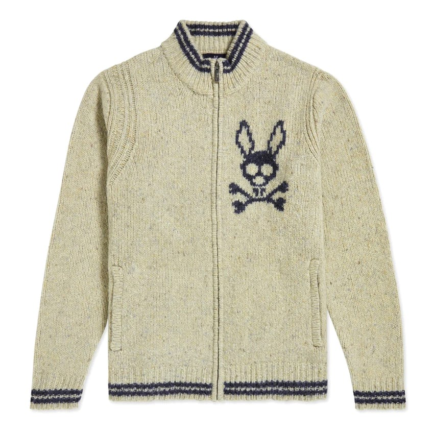 Bampton Donegal Sweater Antique White 0