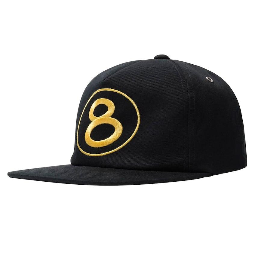 Number 8 Cap Black 0