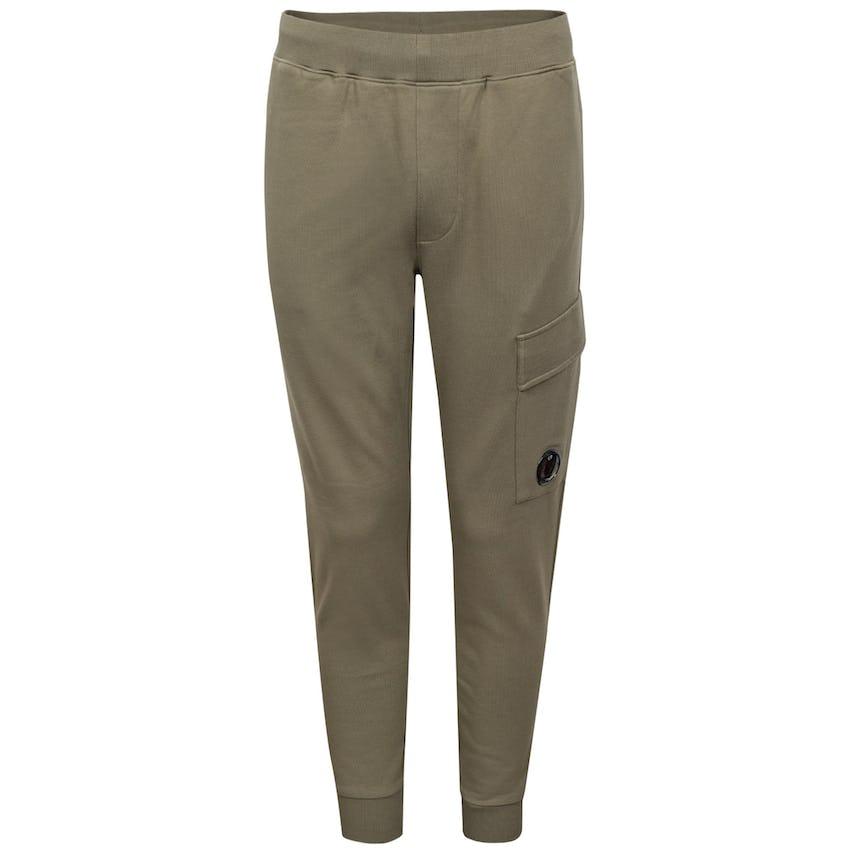 Diagonal Raised Fleece Sweatpants Stone Grey 0