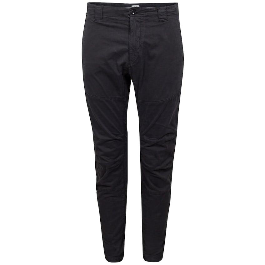 Stretch Sateen Ergonomic Pants Black 0