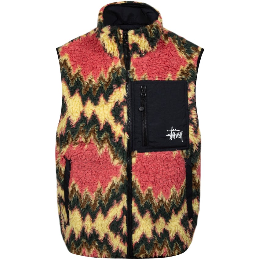 Fillmore Sherpa Vest Mustard 0