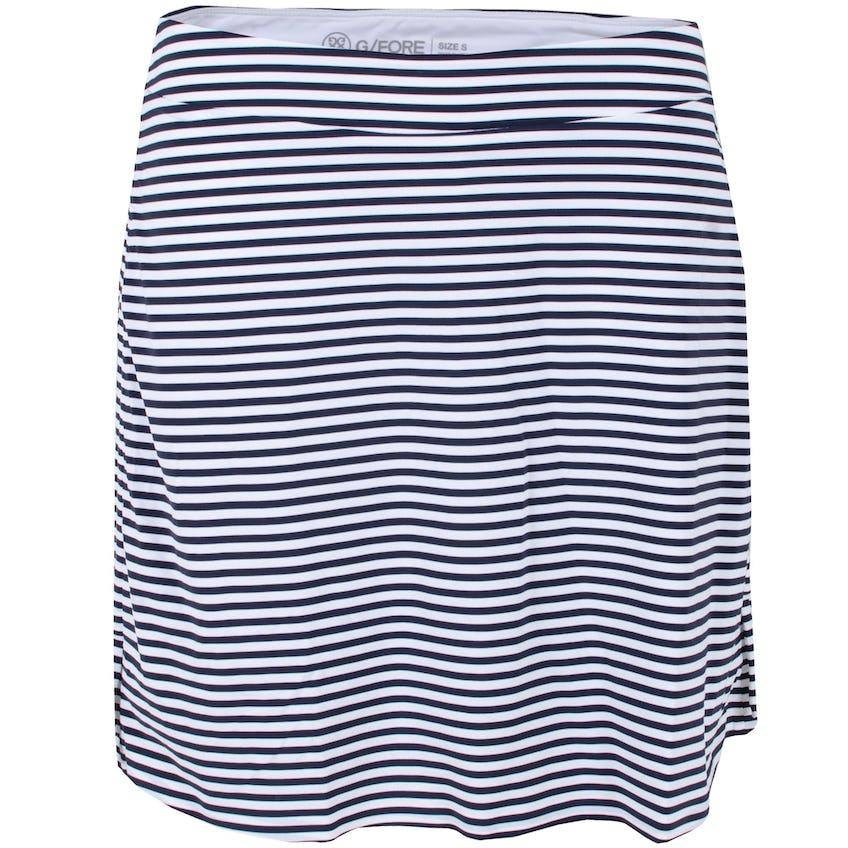 Womens Ruched Striped Skort Twilight 0