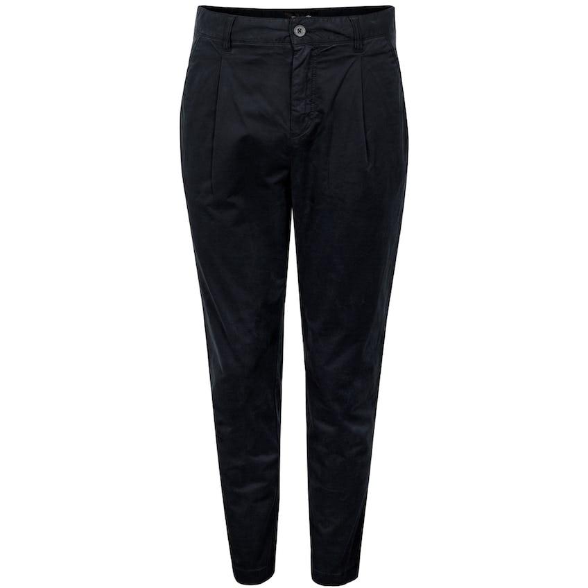 Front Pleat Trouser Jet Black 0