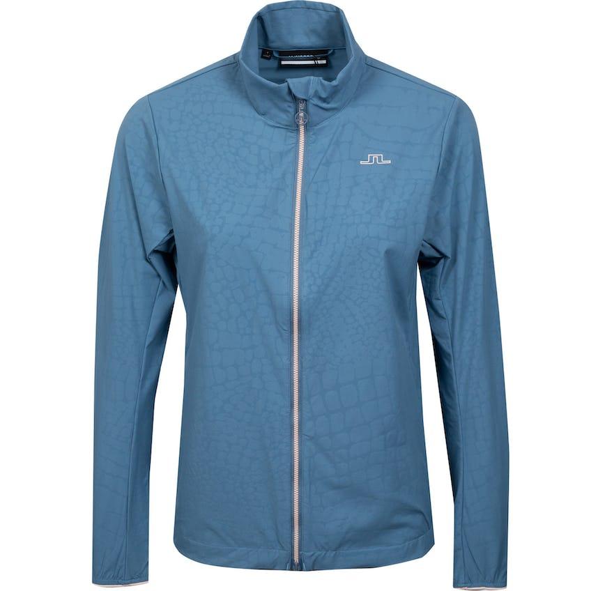Womens Akira Golf Jacket Captains Blue Croco 0