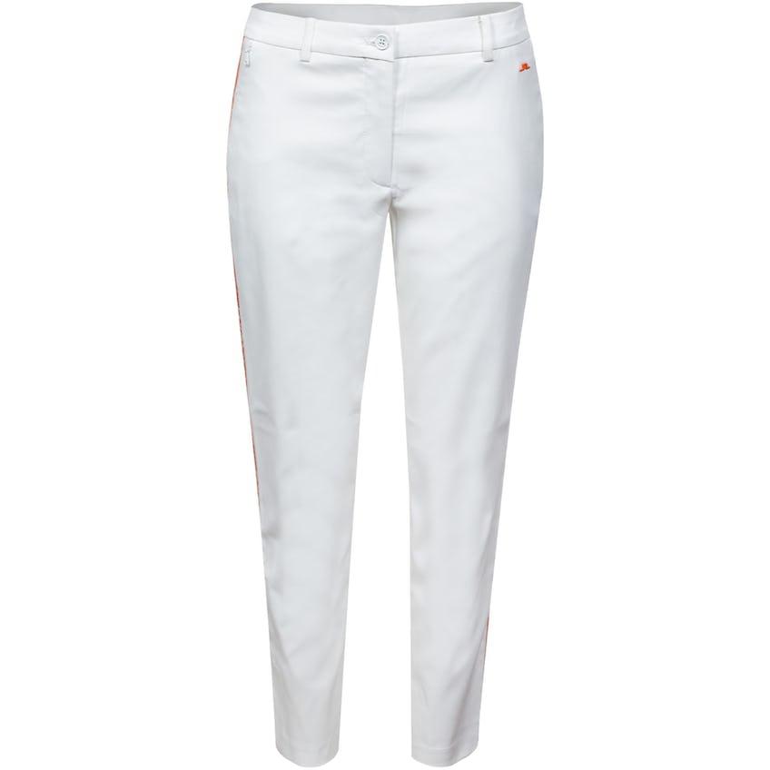 Womens Lei Side Stripe Golf Pant White 0
