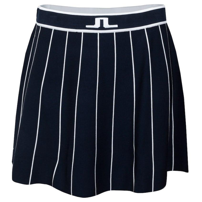 Womens Bay Knitted Golf Skirt JL Navy 0