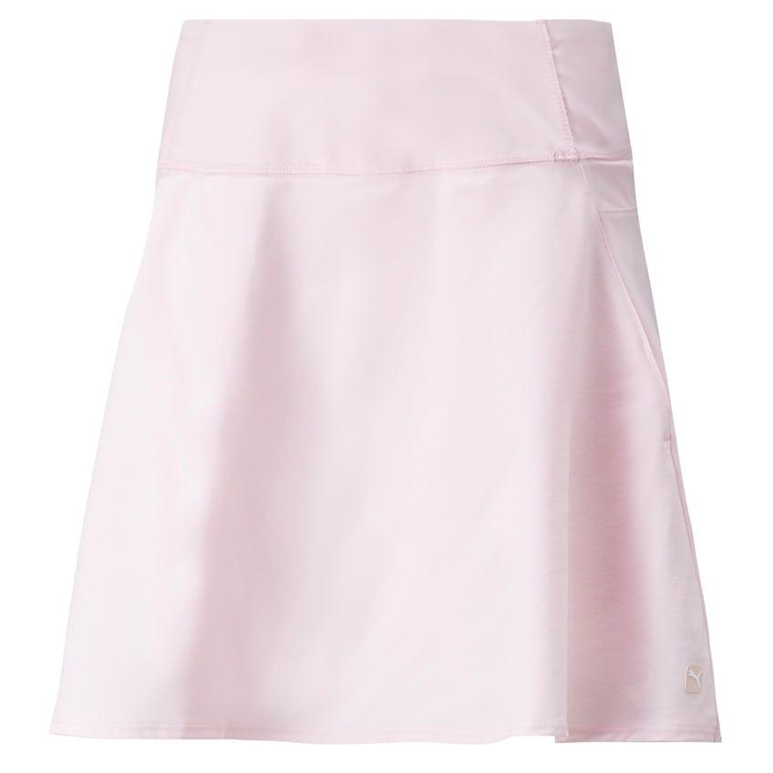 Womens PWRSHAPE Solid Woven Skirt Parfait Pink 0