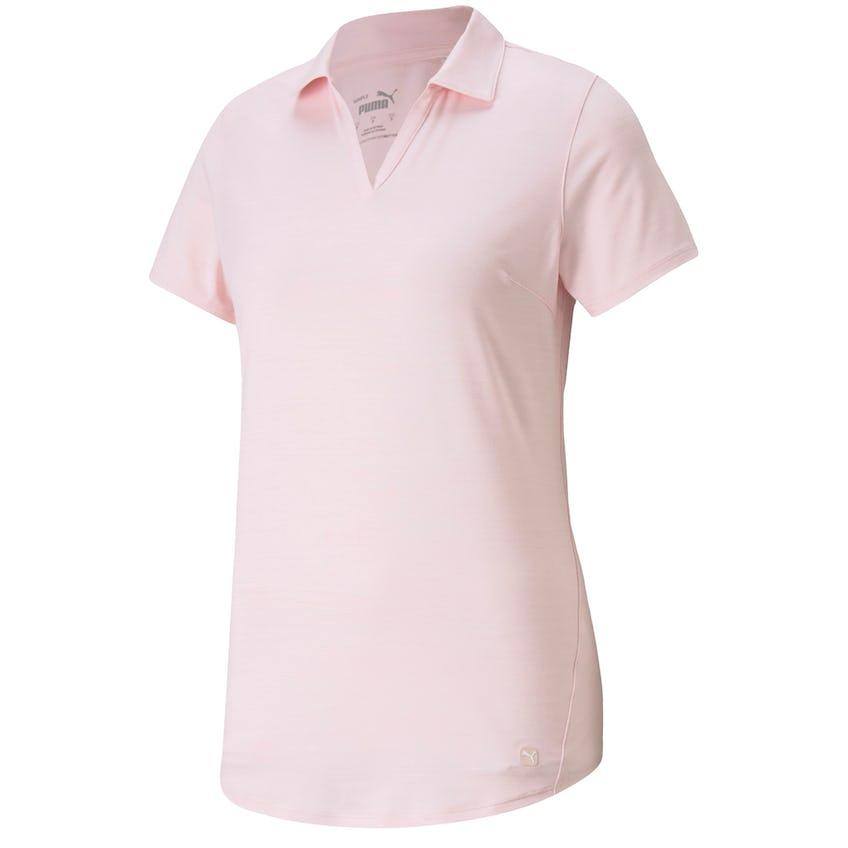 Womens Cloudspun Free Polo Parfait Pink Heather 0