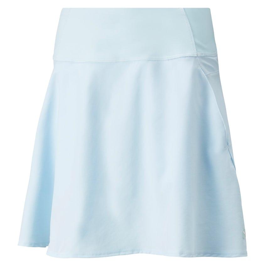 Womens PWRSHAPE Solid Woven Skirt Corydalis Blue 0