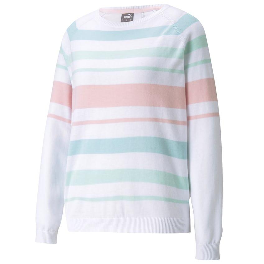 Womens Ribbon Sweater Parfait Pink/Fair Aqua 0