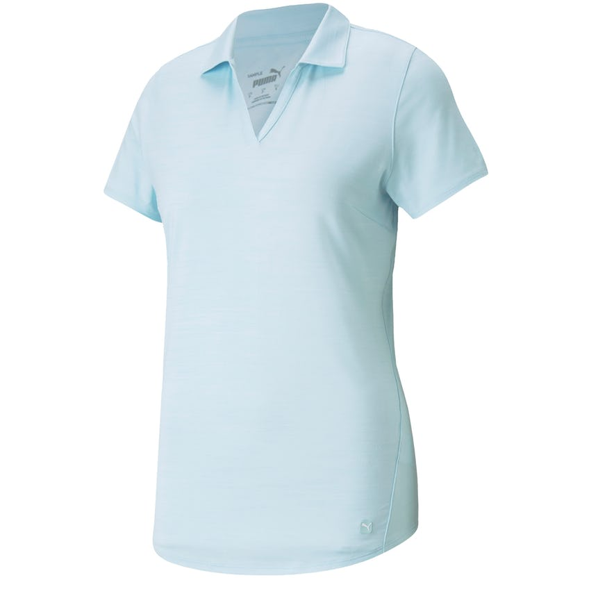 Womens Cloudspun Free Polo Corydalis Blue Heather 0