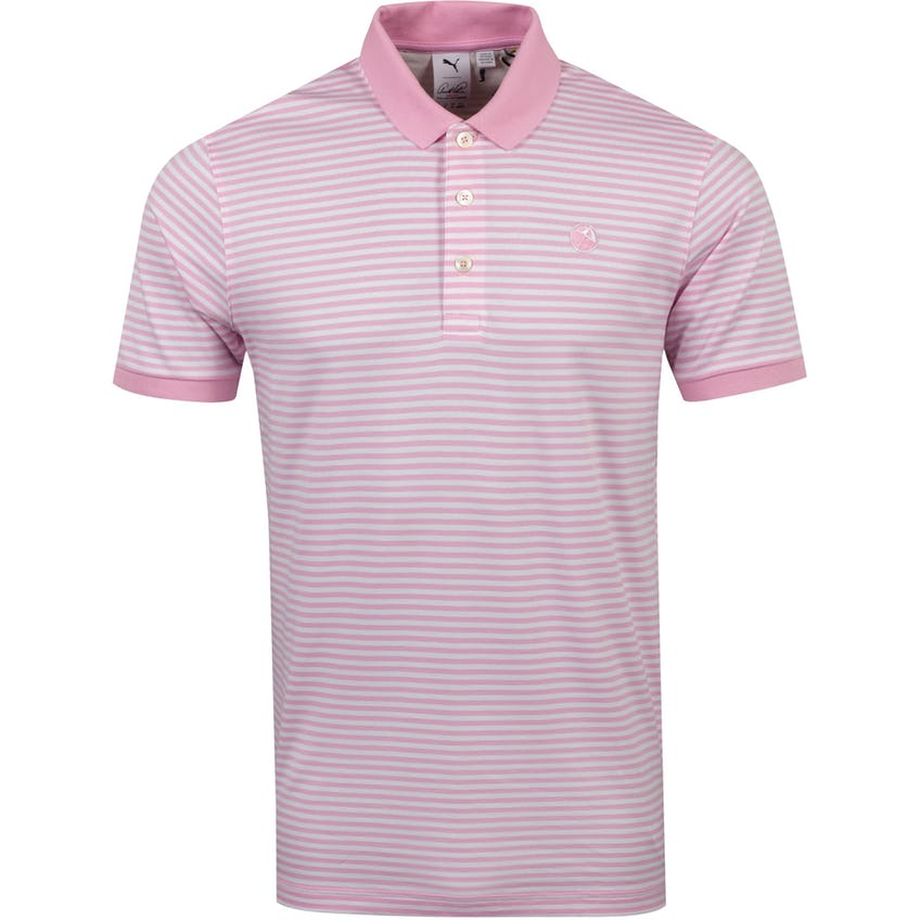 Signature Stripe Polo Pale Pink - SS21