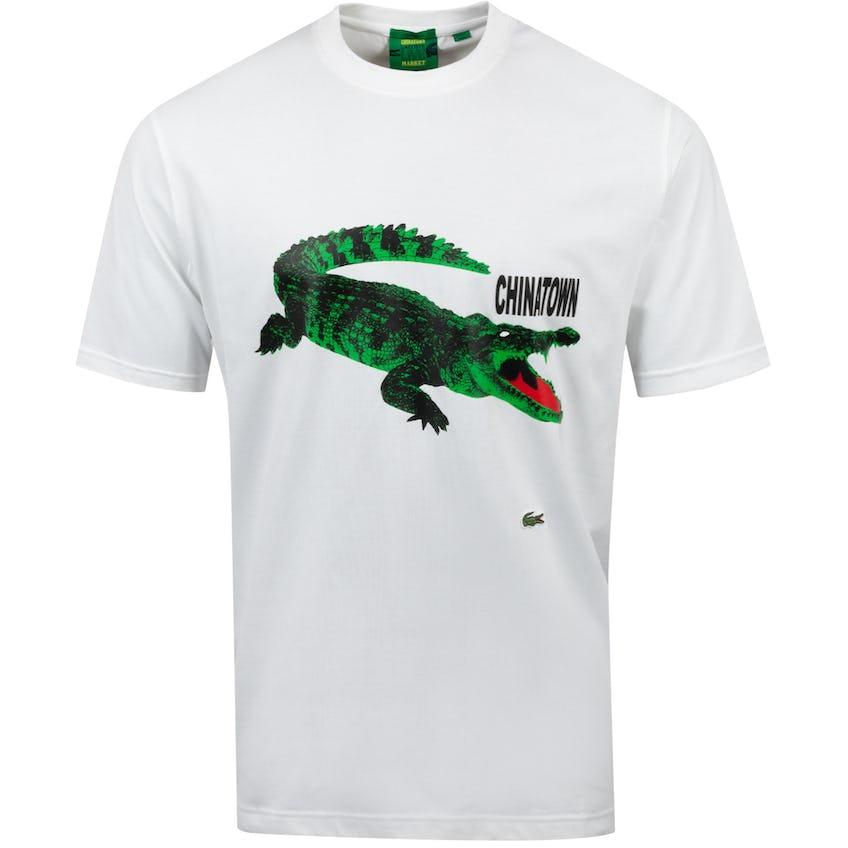 Chinatown Market Large Croc T-Shirt White  - AW20 0