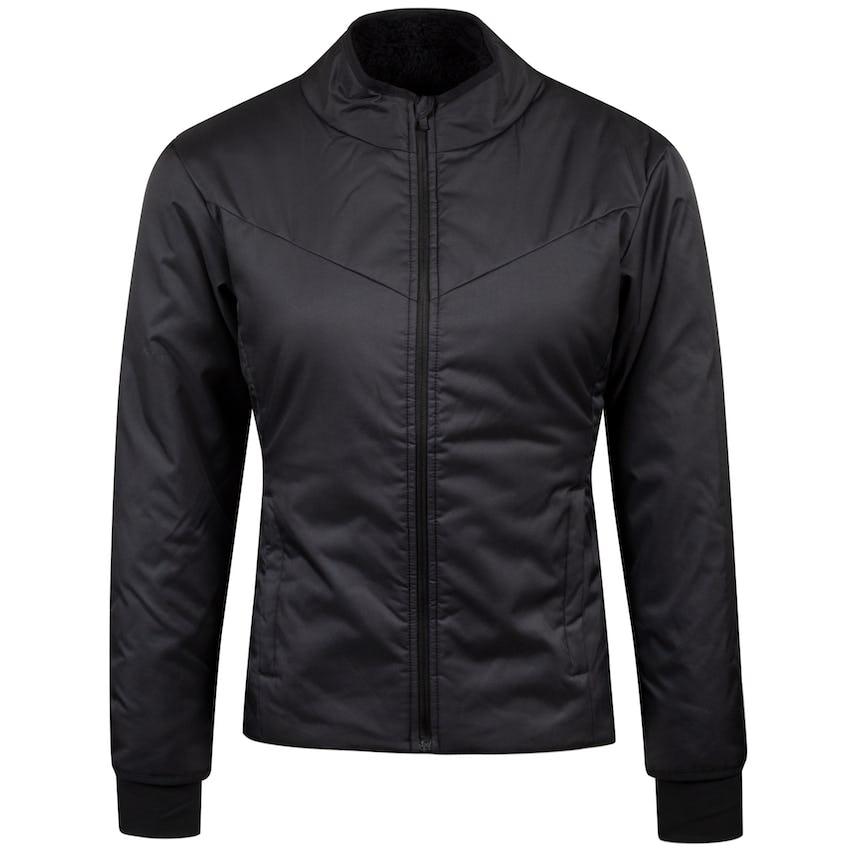 Womens Warm Filled Repel Jacket Medium Black - AW20