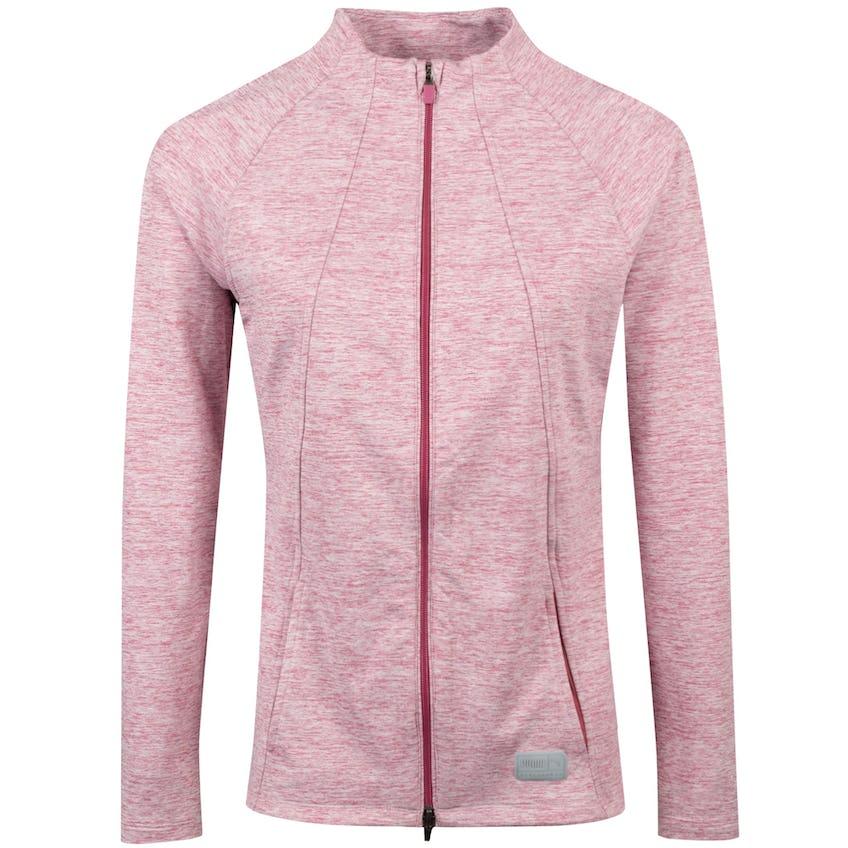 Womens Cloudspun Warm up Jacket Rose Wine Heather - AW20