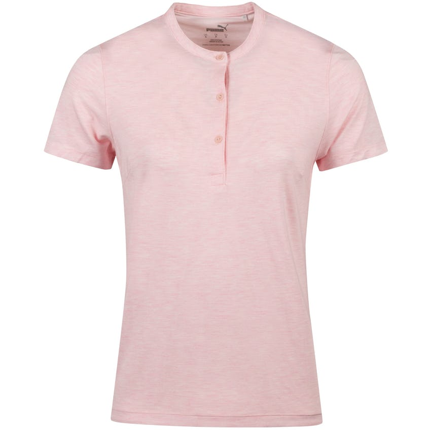 Womens Essence Polo Peachskin Heather - AW20