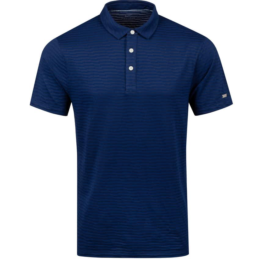 Dry Player Jacquard Polo Blue Void - AW20