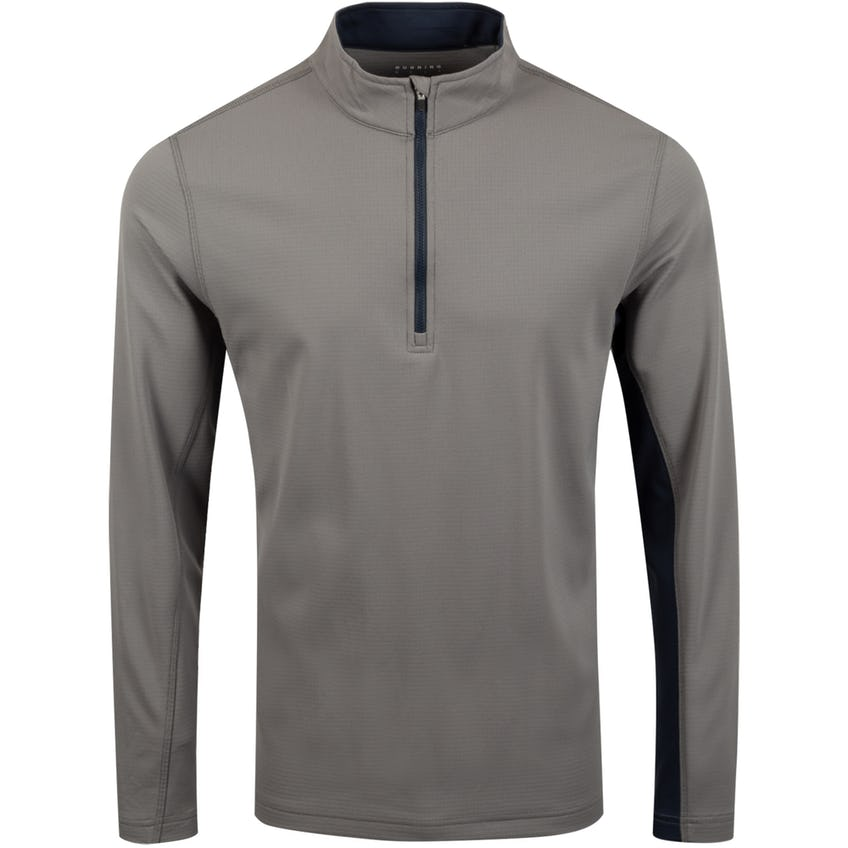 Ellary Quarter Zip Charcoal/Halo - SS20