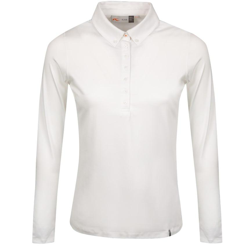 Womens Scotscraig Polo LS White - 2021 0