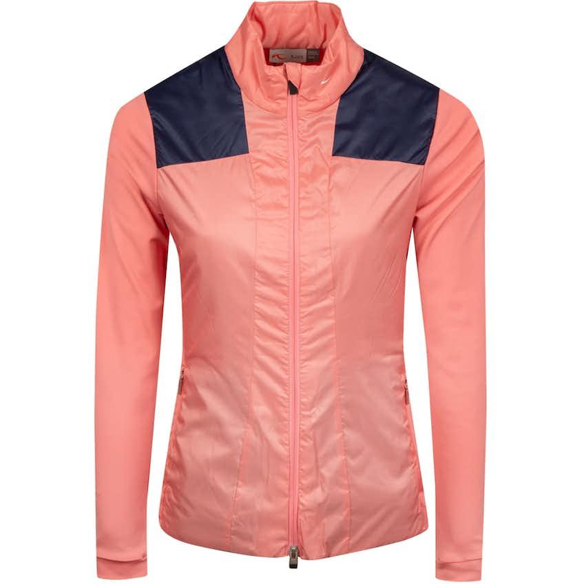 Womens Retention Jacket Rosy Blossom/Atlanta Blue - SS19