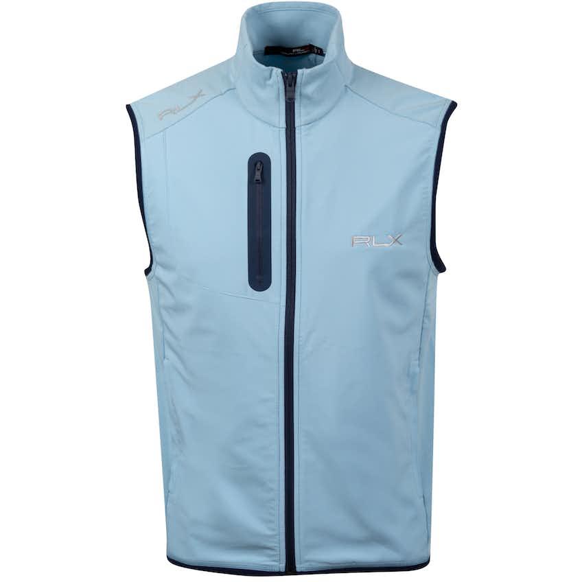Tech Terry FZ Vest Powder Blue - SS20