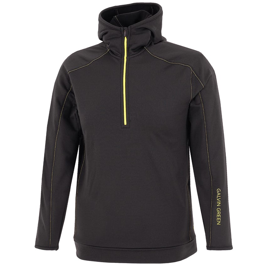 Junior Rob Insula Hooded Jacket Black/Yellow - 2021