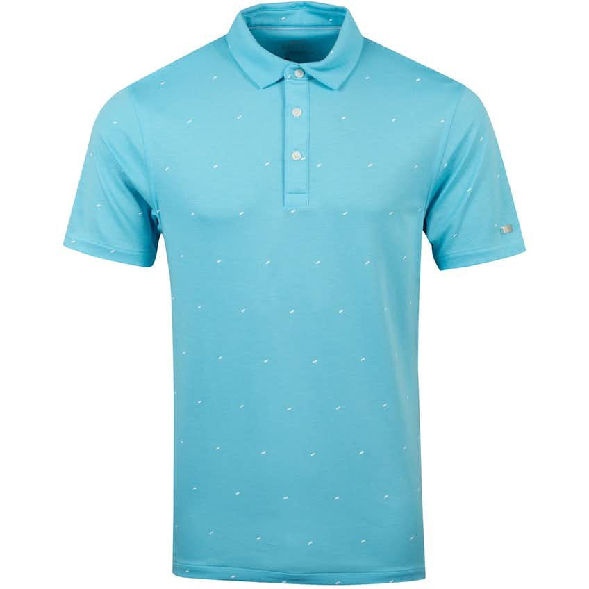 Dry Wing Print Player Polo Blue Gaze - Summer 20