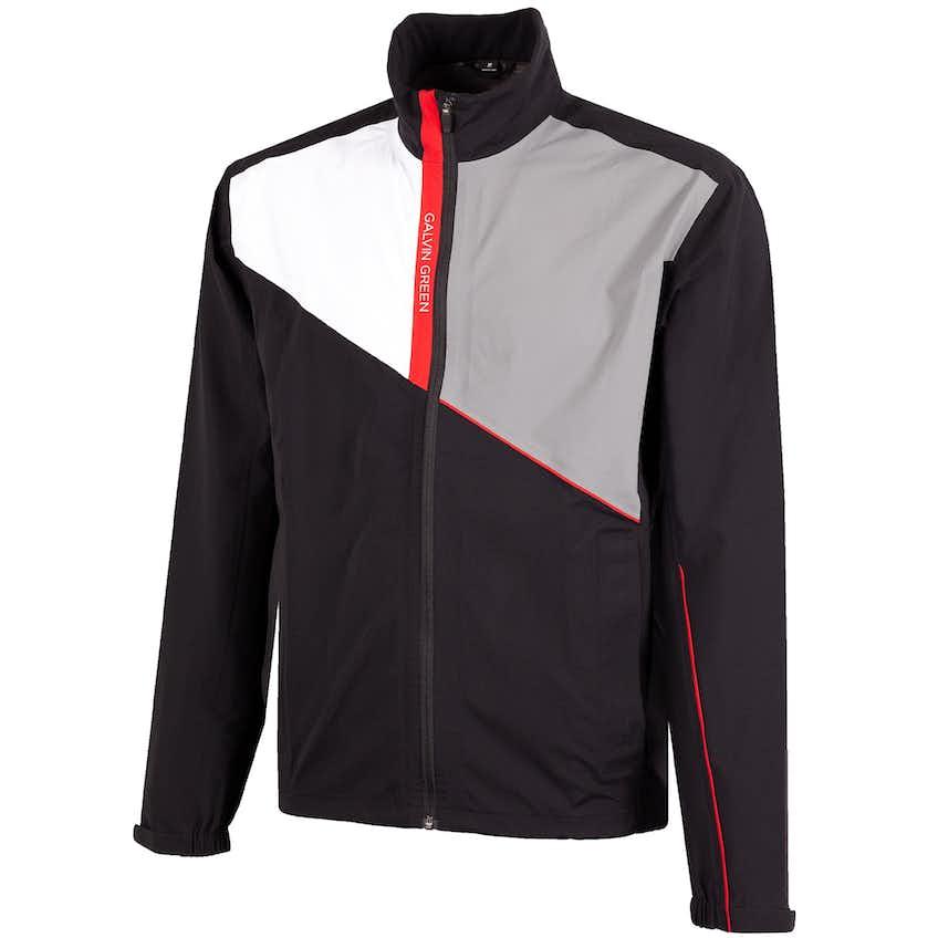 Apollo Gore-Tex Paclite Jacket Black/White/Sharkskin/Red - 2021