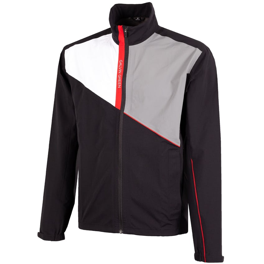 Apollo Gore-Tex Paclite Jacket Black/White/Sharkskin/Red - 2021 0