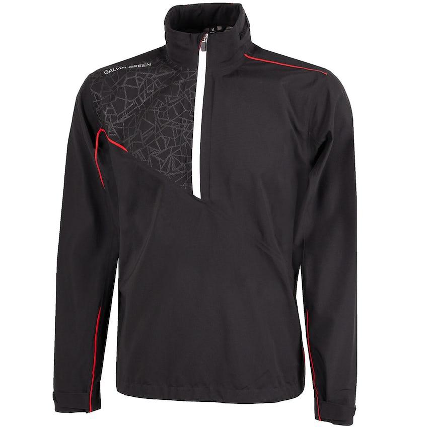 Alex Gore-Tex Paclite Half Zip Jacket Black/Red - 2021 0
