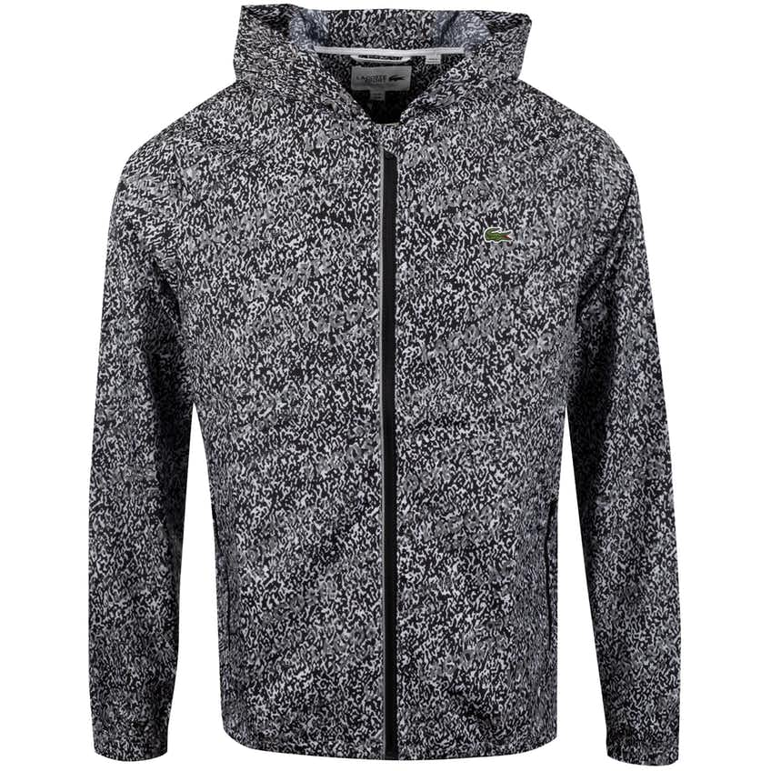 Lightweight Graphic Jacket Black - SS20