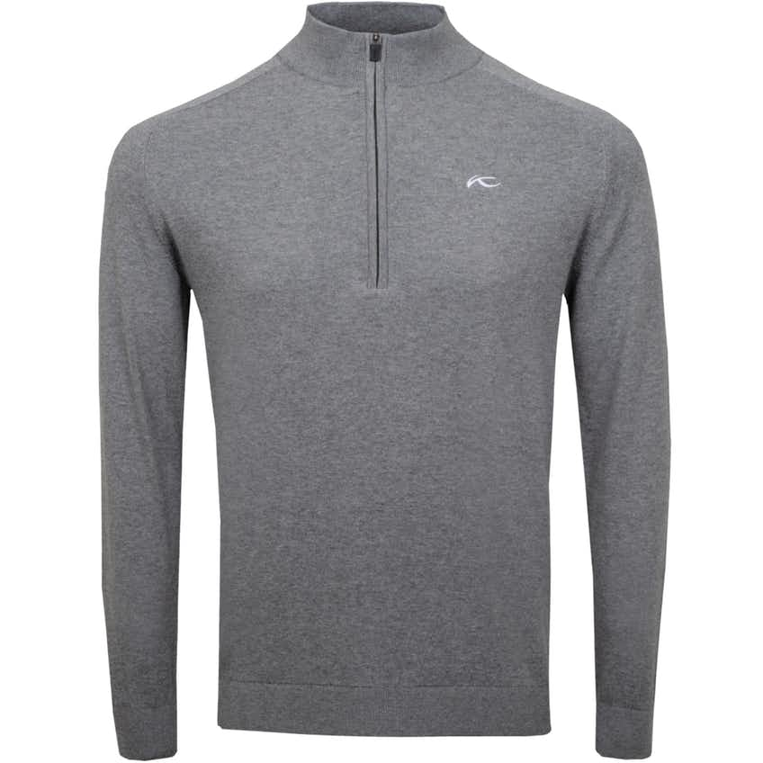 Kirk Half Zip Pullover Steel Grey Melange - 2021