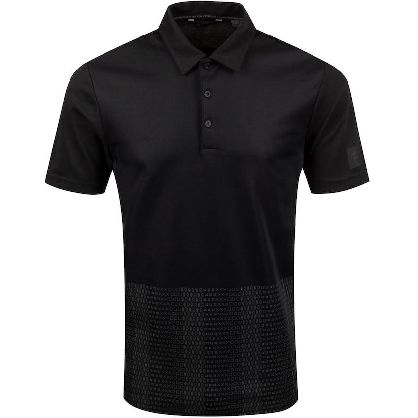Adicross Novelty Print Polo Black/Carbon - SS20