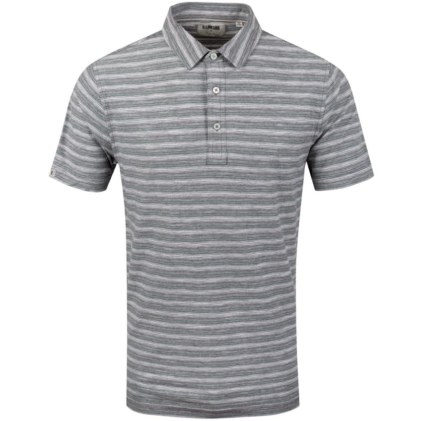 Yarn-Dye Stripe Polo Heather Grey - SS20