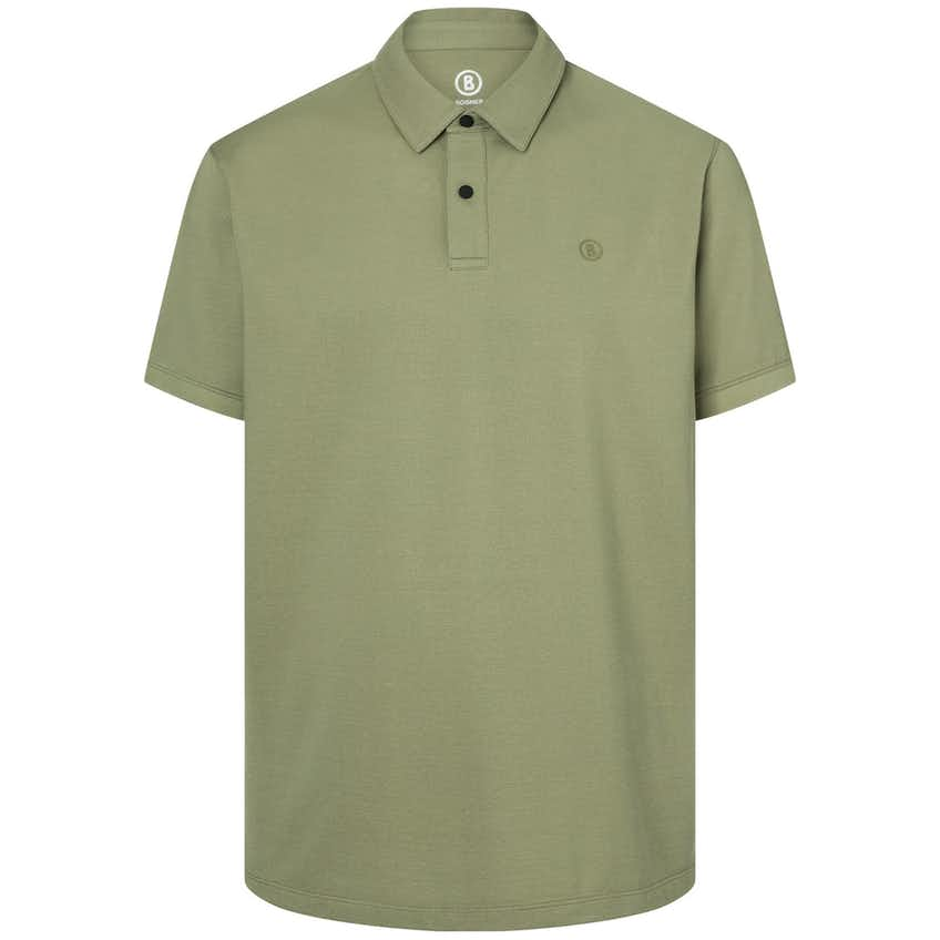 Timo5-S Performance Pique Polo Seaweed - SS20