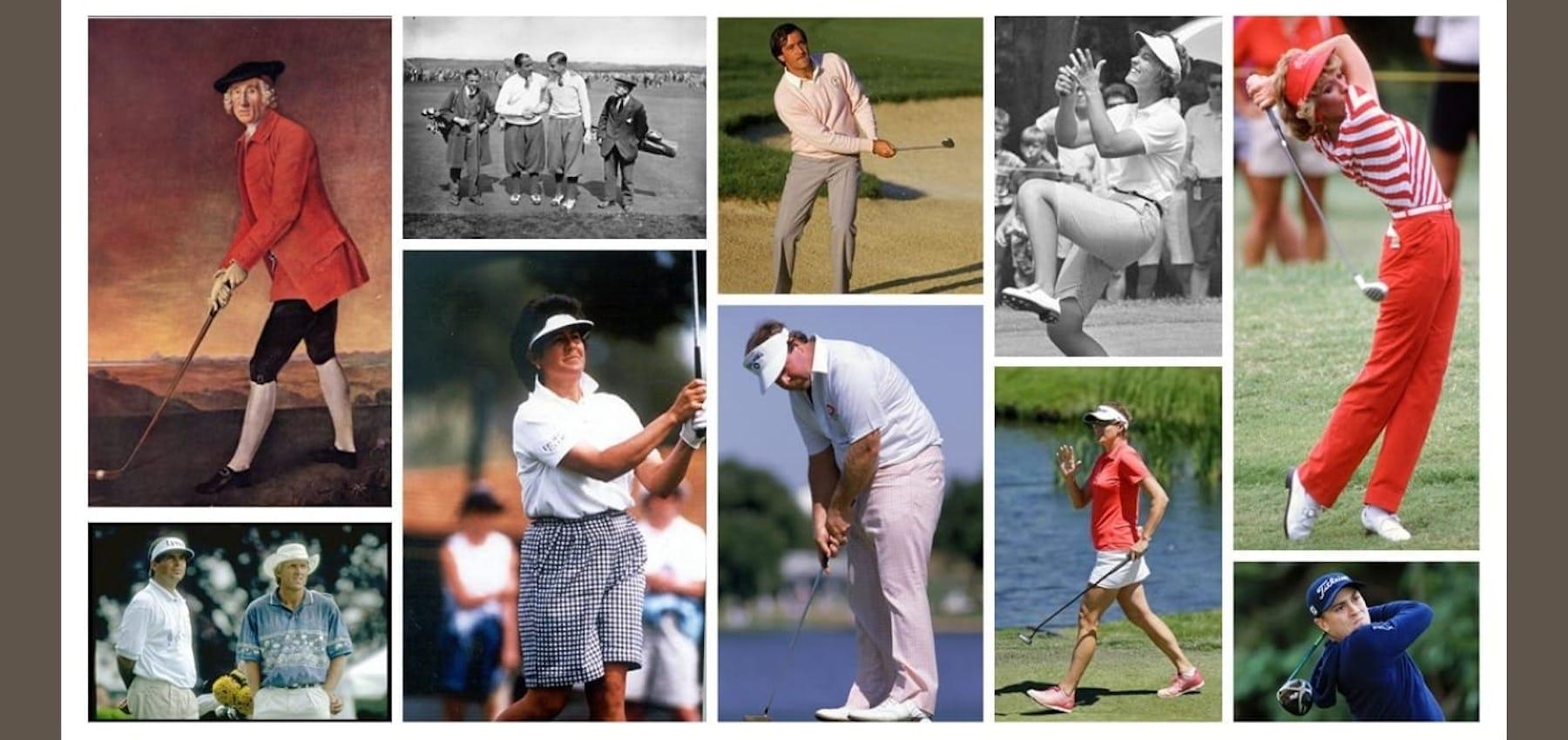 Golf fashion through the years