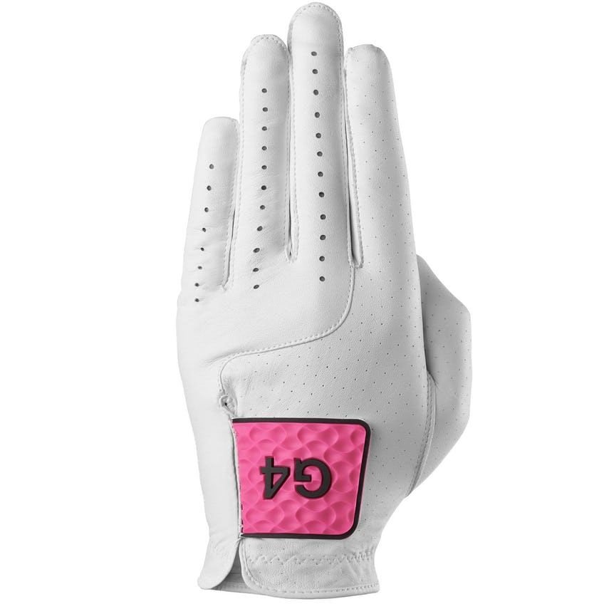 MG4.1 Left Glove Snow/Day Glo Pink - 2021