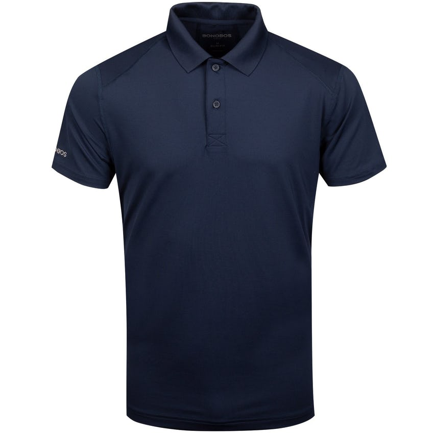 M-Flex Flatiron Slim Polo Navy - AW19