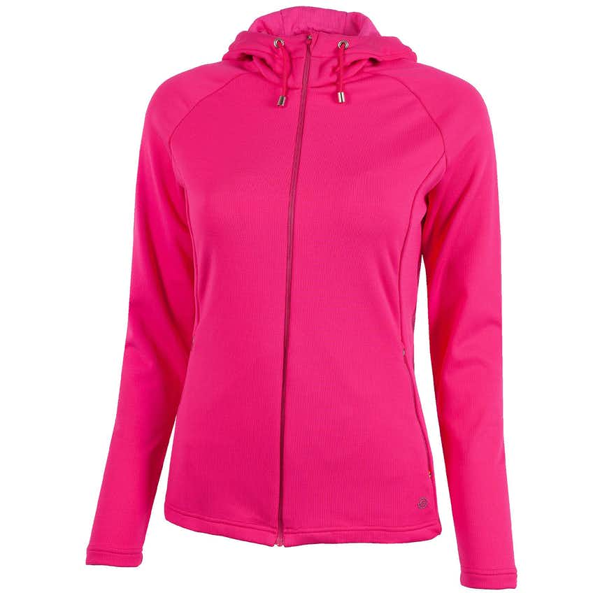 Womens Diane Insula Hooded Jacket Deep Pink - 2021