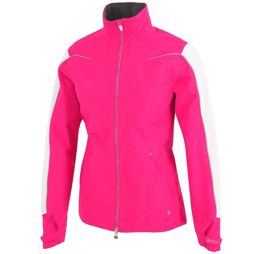 Womens Aino Gore-Tex Paclite Jacket Deep Pink/White/Silver - 2021