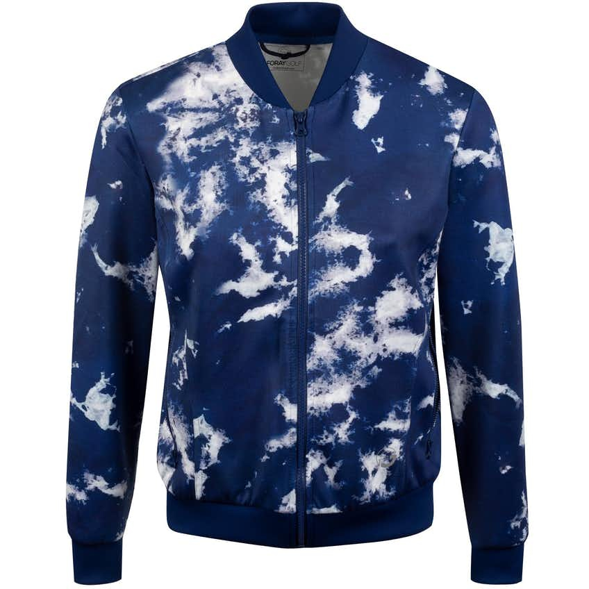Foray Womens Dream Weaver Neoprene Jacket Tonal Tie Dye/Navy - 2020